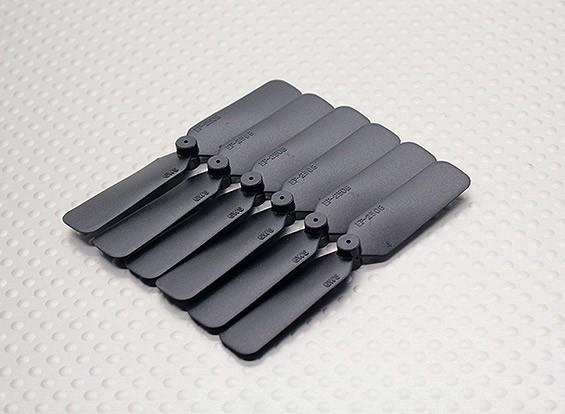 GWS EP Propeller (DD-2508 65x20mm) black (6pcs/set)