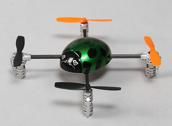 Walkera QR Ladybird V2 Ultra Micro Quadcopter RTF (Mode 2)