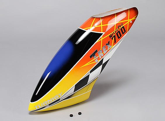Turnigy High-End Fiberglass Canopy for Trex 700 Nitro Pro