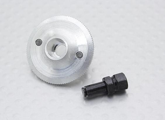 Flywheel w/Shaft & Pins - 1/16 Turnigy 4WD Nitro Racing Buggy, A3011