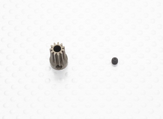 """""""Hard One"""" 0.5M Hardened Helicopter Pinion Gear 3.17mm Shaft - 11T"""