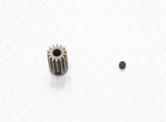 """Hard One"" 0.5M Hardened Helicopter Pinion Gear 3.17mm Shaft - 14T"