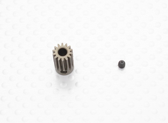 """Hard One"" 0.5M Hardened Helicopter Pinion Gear 3.5mm Shaft - 14T"