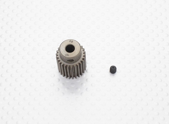 """Hard One"" 0.6M Hardened Helicopter Pinion Gear 5mm Shaft - 26T"