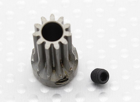 """Hard One"" 0.7M Hardened Helicopter Pinion Gear 5mm Shaft - 11T"