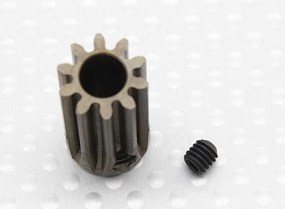 """Hard One"" 1.0M Hardened Helicopter Pinion Gear 6mm Shaft - 10T"