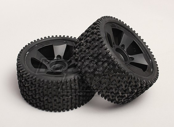 Tires and Wheels (2pcs/bag) - Turnigy Trailblazer XB and XT 1/5