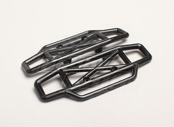 Bumper Front/Rear (2pcs/bag) - Turnigy Trailblazer XT 1/5