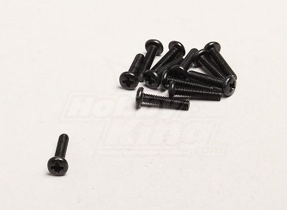 M3x14mm Hex Screw (12pcs/bag) - Turnigy Trailblazer 1/8, XB and XT 1/5