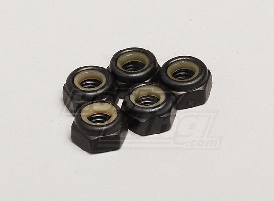 Nutech Nylock Nut M6 (5pcs/bag) - Turnigy Twister 1/5