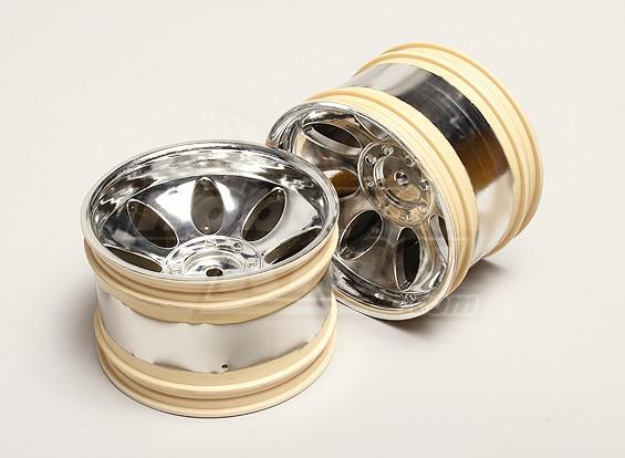Nutech Wheel Rim Unit (2pcs) - Turnigy Titan 1/5