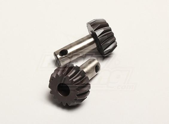 Pinion Bevel Gear 16T (2pcs/bag) - Turnigy Titan 1/5