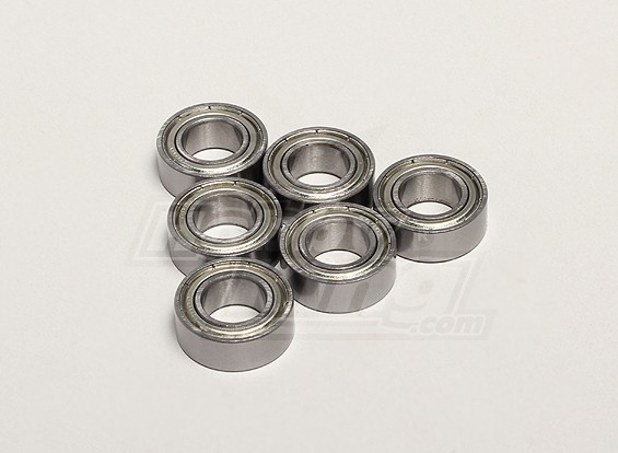Nutech Bearing 10*19*7 (6pcs) - Turnigy Titan 1/5 and Thunder 1/5