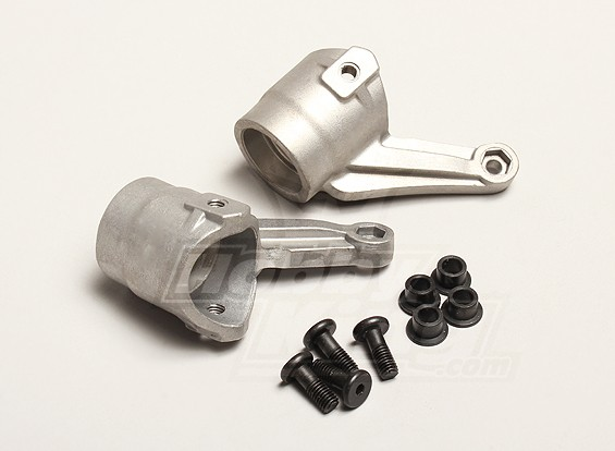 Nutech Alloy Steering Knuckle/Hub Carrier (L&R) - Turnigy Titan 1/5