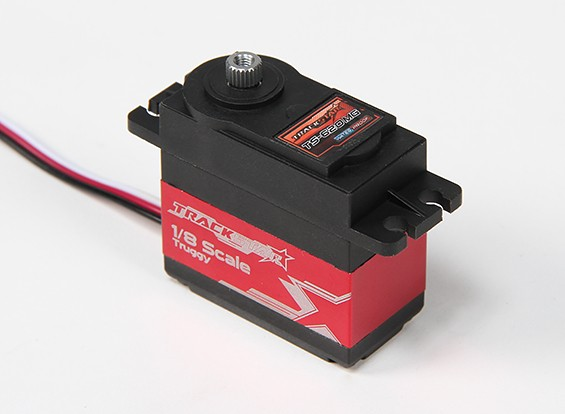TrackStar TS-620MG Digital 1/8 Scale Truggy Steering Servo 62g / 16.35kg / 0.18sec