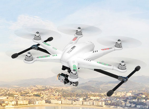 **COMING SOON** Walkera TALI H500 GPS FPV Hexacopter with Devo F12E, iLookplus, G-3D (Ready to Fly)