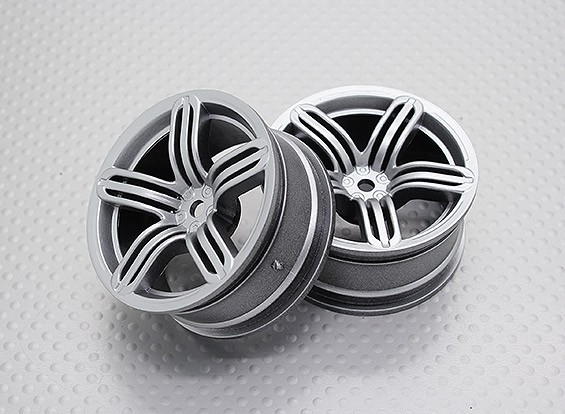 1:10 Scale High Quality Touring / Drift Wheels RC Car 12mm Hex (2pc) CR-RS6S