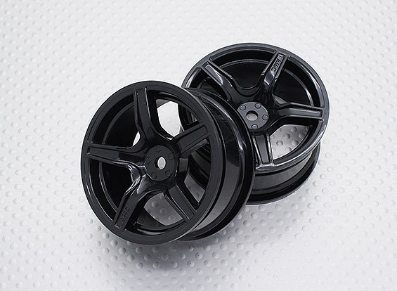 1:10 Scale High Quality Touring / Drift Wheels RC Car 12mm Hex (2pc) CR-C63NB