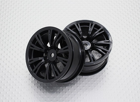 1:10 Scale High Quality Touring / Drift Wheels RC Car 12mm Hex (2pc) CR-BRNB