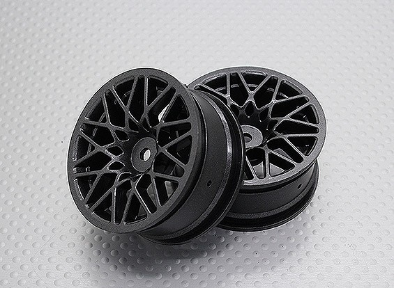 1:10 Scale High Quality Touring / Drift Wheels RC Car 12mm Hex (2pc) CR-LBM