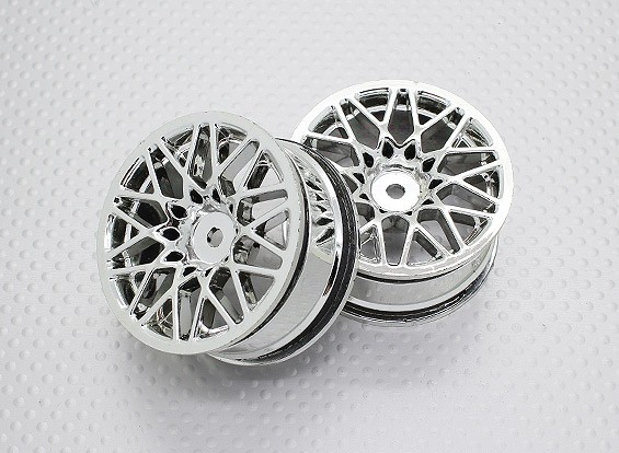 1:10 Scale High Quality Touring / Drift Wheels RC Car 12mm Hex (2pc) CR-LBC