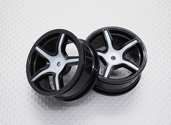 1:10 Scale High Quality Touring / Drift Wheels RC Car 12mm Hex (2pc) CR-C63SW