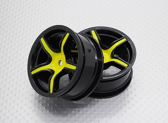 1:10 Scale High Quality Touring / Drift Wheels RC Car 12mm Hex (2pc) CR-C63SY