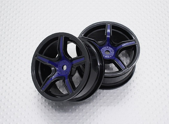 1:10 Scale High Quality Touring / Drift Wheels RC Car 12mm Hex (2pc) CR-C63SB