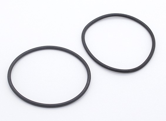 Battery Fixed Rubber Ring - 1/10 Turnigy GT-10X Pan Car (2pcs)