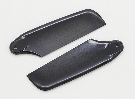 62mm High Quality Carbon Fiber Tail Blades