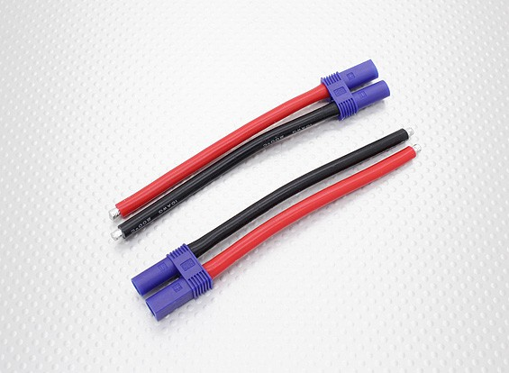 EC5 plug Female 10awg 10cm (2pcs/bag)