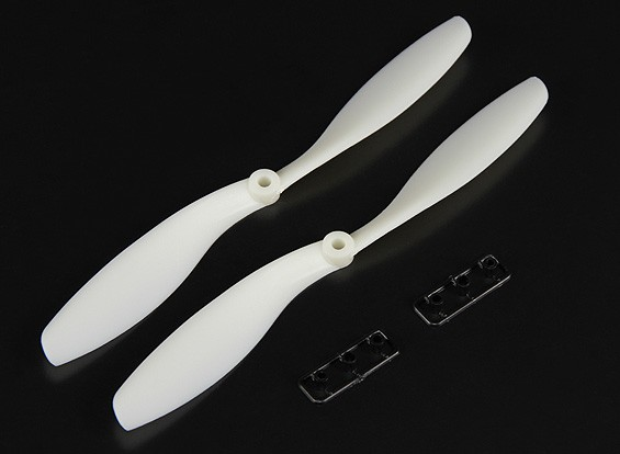 Turnigy SF Glowing Propeller 8x4.5 Black (CW) (2pcs)