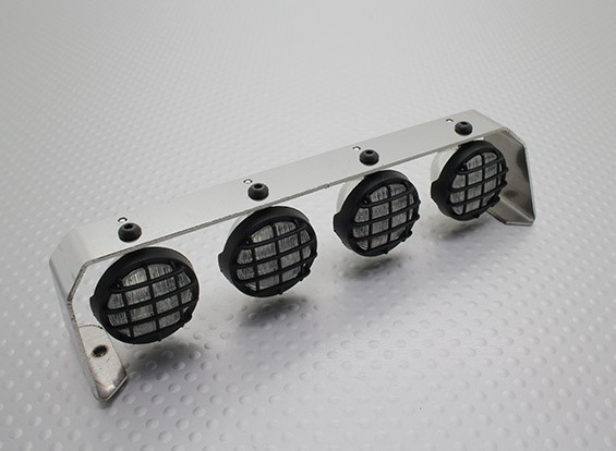 Crawler/Truck Light Bar Set with LED's (Stainless Steel)