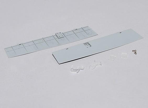 Durafly™ Supermarine Spitfire Mk 24 - Replacement Split Flaps (1set)
