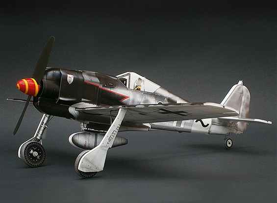 MicroAces Focke Wulf 190 Micro Airplane Depron Standard Kit (Black 8)
