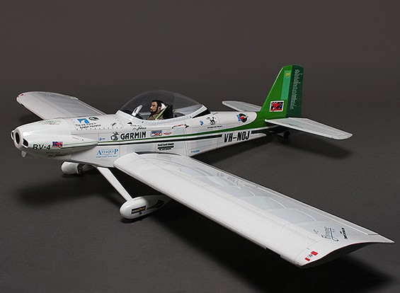 Van's Aircraft RV-4 Sport Scale Balsa, Glow/EP 1600mm (ARF)