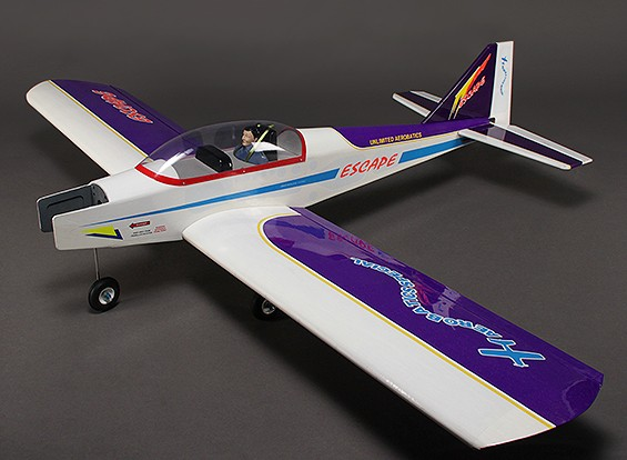 Escape - Sport Aerobatic/Low Wing Trainer, balsa, glow/EP 1580mm (ARF)
