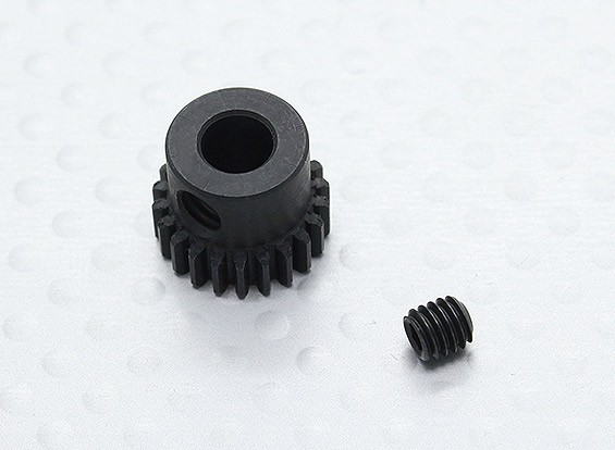 22T/5mm 48 Pitch Hardened Steel Pinion Gear