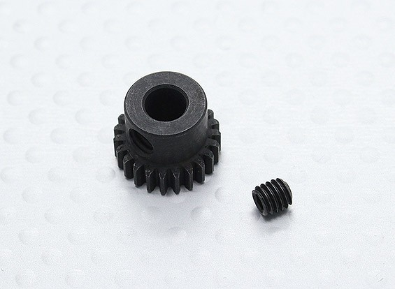 23T/5mm 48 Pitch Hardened Steel Pinion Gear