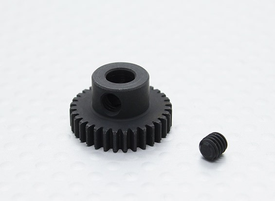 32T/5mm 48 Pitch Hardened Steel Pinion Gear