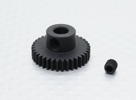 36T/5mm 48 Pitch Hardened Steel Pinion Gear