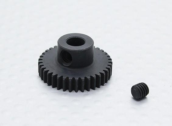 37T/5mm 48 Pitch Hardened Steel Pinion Gear