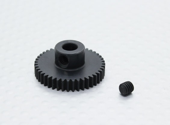 43T/5mm 48 Pitch Hardened Steel Pinion Gear