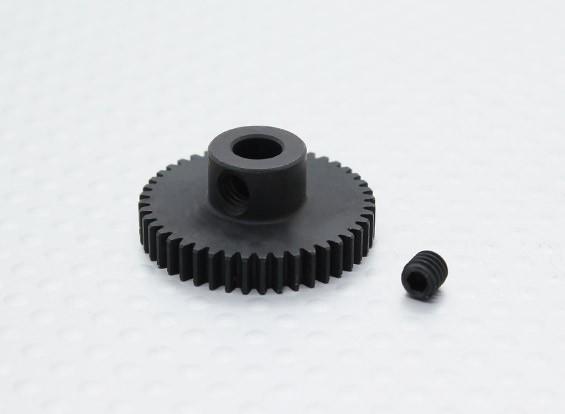 44T/5mm 48 Pitch Hardened Steel Pinion Gear