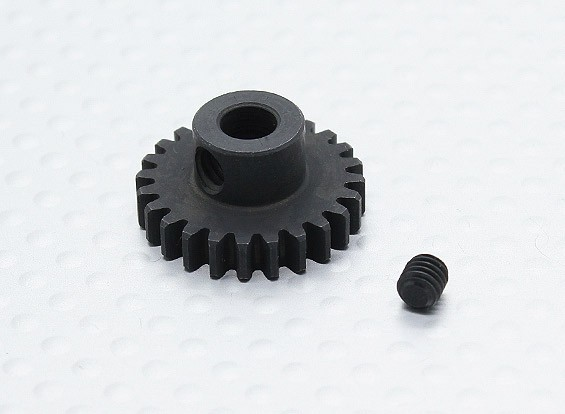 24T/5mm 32 Pitch Hardened Steel Pinion Gear