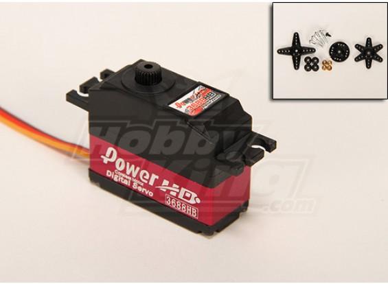 Power HD 3688HB Digital Servo 25T 2.8kg / 0.07sec / 25g