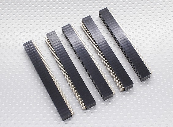3x30P Pin Socket - 2.54mm Pitch (5pcs/bag)