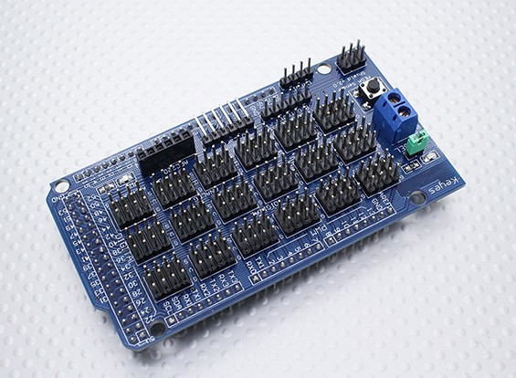 Kingduino Compatible Sensor Shield V2.0