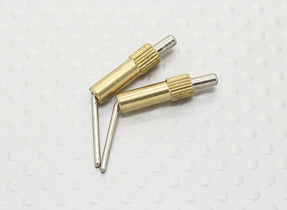 Brass Canopy Locks L20mm - 2pcs
