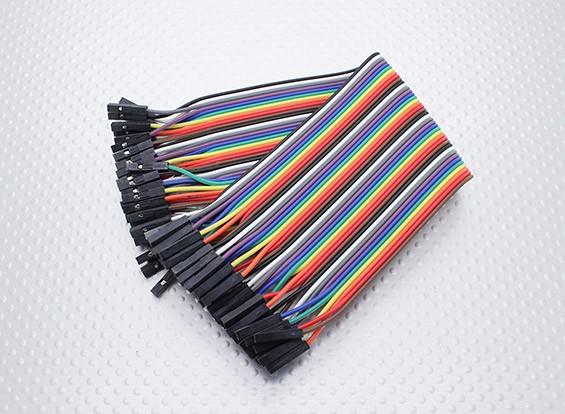 Kingduino Female-Female 40P 200mm Wire Jumper Cable